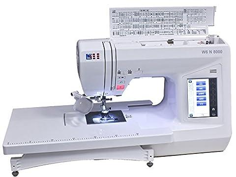 W6 N8000 computergesteuerte Nähmaschine mit 504