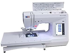 W6 N8000 computergesteuerte Nähmaschine mit 504 Programmen