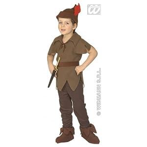 WIDMANN Widman - Disfraz de Navidad para niño, talla 3-5 años (4382F)