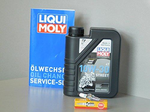 Kit d'entretien Honda PCX 125Huile Bougie d'allumage Service d'inspection ölwechsel Roller