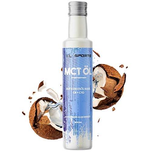 Kl Sports Mct L In Glasflasche 500ml Vegan Premium Qualitt Auf Kokoslbasis C8 Caprylsure Und C10 Caprinsure Bulletproof Coffee Vom Hersteller Kruterland 500ml