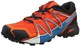Salomon Herren Speedcross Vario 2 GTX Trailrunning-Schuhe, rot (cherry tomato/black/fjord blue), 44 EU