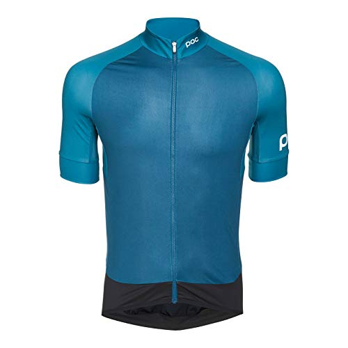 POC Herren Essential Road Jersey, Antimony Multi Blue, M
