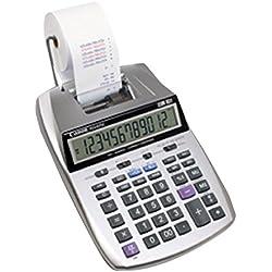 Canon P23-DTSC Calculatrice portable avec imprimante 12 chiffres Bicolore Ecran LCD Calcul taxe / rentabilit é Horloge / Calendrier ,avec practical power system , battery or mains