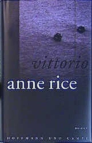 Buchseite und Rezensionen zu 'Vittorio' von Anne Rice