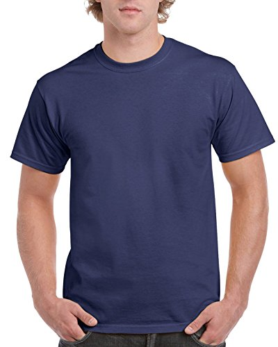 Gildan Ultra Cotton ™ Adult T-Shirt Blau - Metro Blue