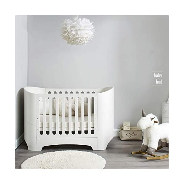 DUWEN-Cot bed Solid Wood Multifunction European Baby Cot Toddler Bed Sofa Bed Game Bed Children's Bed DUWEN-Cot bed 1. Simple and exquisite crib not only allows the baby to have a better sleep experience, but also cultivates the baby's independent consciousness and exercises the baby's hand and foot coordination ability, which is the best gift for the baby. 2. The crib is made of environmentally friendly pine wood, which is sturdy and durable, not easy to crack and deform, and has a carrying capacity of more than 80KG, so that the baby has a healthy sleep. 3. The crib is safe, environmentally friendly, non-irritating and harmless to the baby. It is the best choice for the mother. 3