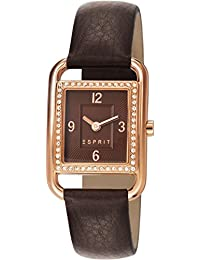 Esprit Damen-Armbanduhr Ione Square Analog Quarz ES106612003