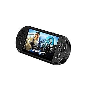 Vernwy 5-Inch Arcade PSP Handheld-Spielkonsole Farbbildspiel GBA Spiel