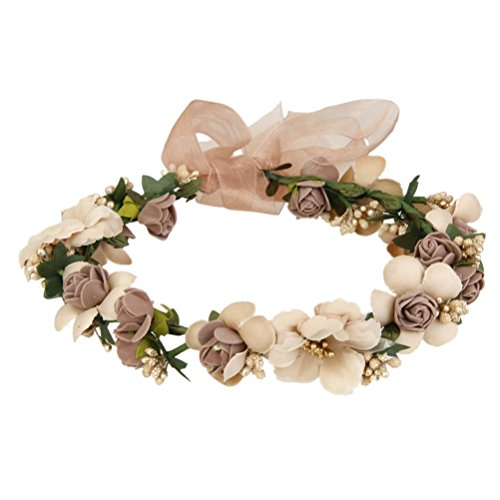 Cinta con flores rosa