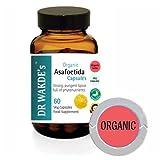 Organic Assafetida Capsule di DR WAKDE I SPEDIZIONE GRATUITA