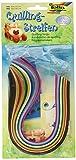Efco Bandes pour Papillote-14Couleurs 0,4/ 0,8x 34,5cm 280-pièces, Multicolores