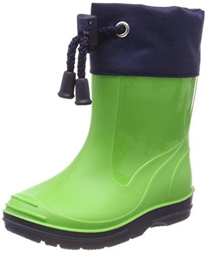 Beck Basic, Stivali di Gomma Unisex-Bambini, Verde (Apfel 09), EU