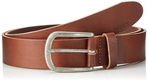 Gürtel Jjiace Leather Belt Noos, Braun (Mocha Bisque), 90 cm (90) (Herren Gürtel 36 Braun)