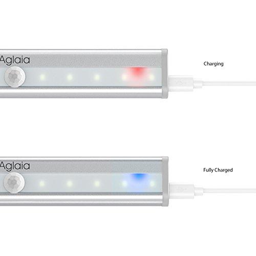 Aglaia Luz LED Recargable del Armario,