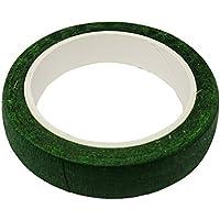 1 Rollo De Papel De Crepe Decorativo Verde Papel Utilizado Para La Elaboración De Propósito Y Hacer El Proyecto