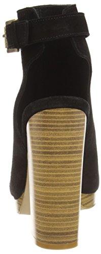 New Look Damen Premium Steps High Block Heel Kurzschaft Stiefel Black (01/Black)