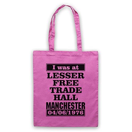 I Was At Lesser Free Trade Hall Manchester borsa custodia Rosa