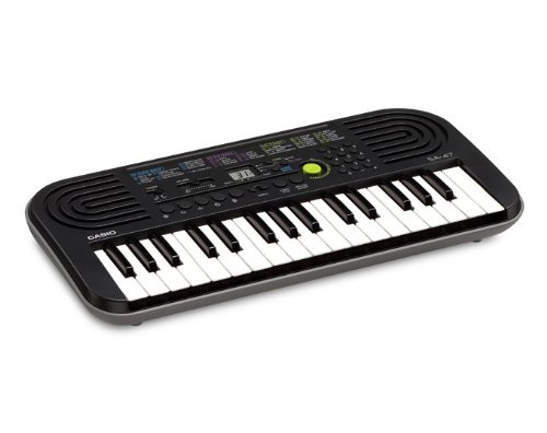 7. Casio SA-47A Electronic Keyboard
