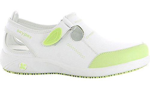 Oxypas Lilia Women's Work Shoes White (White - White) 4 UK (37 EU)