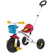 Chicco - Triciclo U-Go 2 en 1, con o sin asa, max. 20 kg, color rojo
