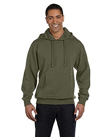 econscious 9 oz. Organic/Recycled Pullover Hood - JUNGLE - M (US)