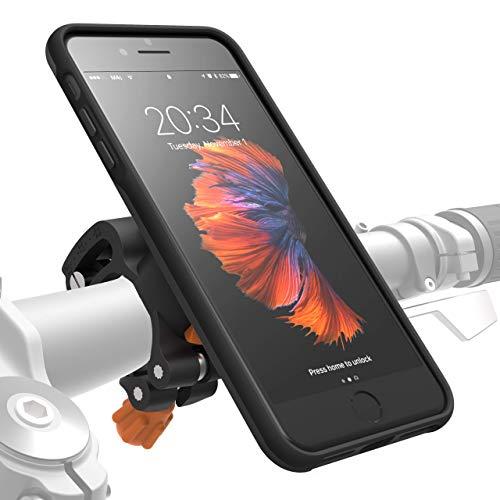 MORPHEUS LABS M4s BikeKit iPhone 8 Plus / 7 Plus Bike Kit - Fahrrad Handyhalterung & iPhone8 Plus /7 Plus Hülle, US-Mil.Standard DropTest, Fahrradhalterung, patentierter Magnet-Verschluss, schwarz