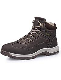 Desconocido Calzado Casual para Hombre, Microfibra Otoño Invierno Zapatillas de Deporte Cómodas, Zapatos para