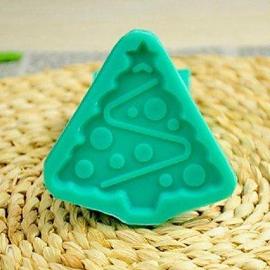 lllzz Weihnachtsbaum Fondant Kuchen Schokolade Silikon Form Kuchen Dekoration Werkzeug, l7.7* w7.7* Kunsthandwerk - Ninja Turtles-silikon-form