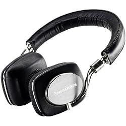 Bowers & Wilkins P5 Casque Hi-Fi à réduction de bruit compatible iPod/iPhone - Noir