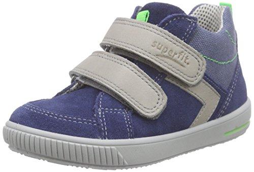 Superfit Moppy, Chaussures Bébé marche bébé garçon Bleu (indigo Kombi 88)