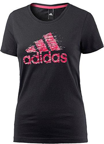 adidas Performance Damen T-Shirt schwarz S