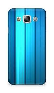 Amez designer printed 3d premium high quality back case cover for Samsung Galaxy E5 (Motion Stripes)