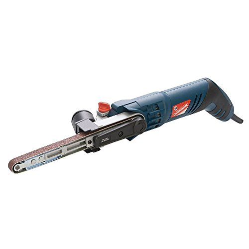 Silverline Powerfeile Elektrobandfeile Fingerfeile Bandfeile 260W für 13 x 457 mm Schleifbänder