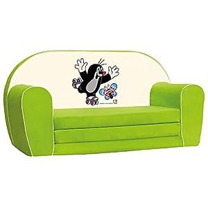 Bino Licencia 78 x 42 x 36 cm Little Mole Sofá (Verde)