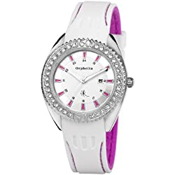 Orphelia Women's Quartz Watch with Rubber Strap