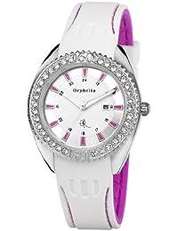 Orphelia Damen-Armbanduhr Analog Quarz Silikon