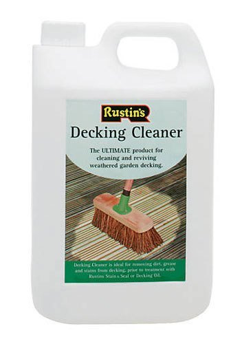 Rustin Decking Cleaner 4 Litre - (DECL4000) by Rustins