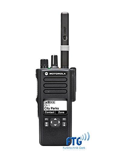 MOTOROLA DP4600 HFG VHF 136-174MHz + kundenspezifische Programmierung (Funkgeräte Motorola Vhf)