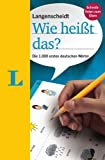 Langenscheidt Wie heißt das? - Deutsch als Fremdsprache: Die 1.000 ersten deutschen Wörter