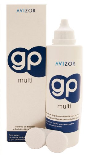 Avizor GP Multi Contact Lens Solution for Rigid and Gas- Permeable Contact Lenses (240ml)