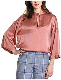 dec52a657e Amazon.it: Seta - Rosa / Bluse e camicie / T-shirt, top e bluse ...
