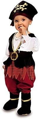 Disfraz de Pirata Richard para Bebé Niña