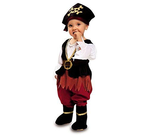 Imagen de disfraz de pirata richard para bebé niña