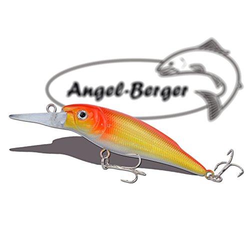 Deep Shad 3D Wobbler Orange Shiner Angel Berger Hardbait
