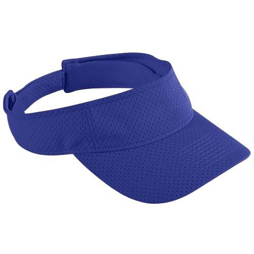 Adult Athletic Mesh Visor PURPLE OS (Augusta-mesh-visor)