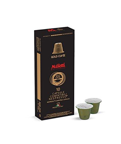 Capsule Compatibili Nespresso® miscela Gold Cuvée 10 pz.