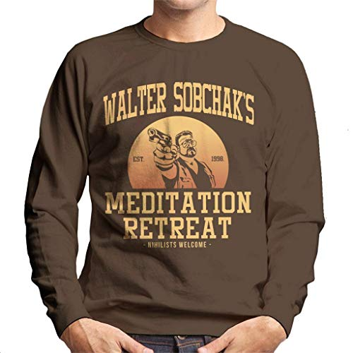 Walter Sobchaks Meditation Retreat Big Lebowski Men's Sweatshirt