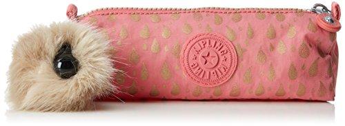 Kipling Freedom Estuches, 22 cm, 1 Liters, Rosa (Pink Gold Drop)