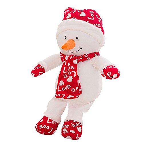 Togelei Weihnachtsschneemann Plüschtier Weihnachtsmann Plüsch Spielzeug Plüsch Spielzeug Kindergeburtstag Geschenk Langsam Steigenden Spielzeug Exquisite Art Stofftier